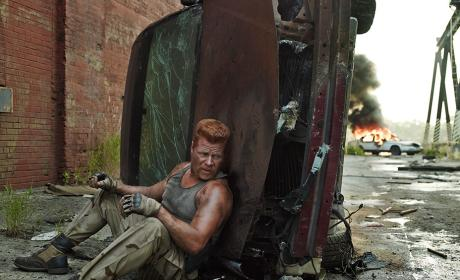 Michael Cudlitz as Abraham - The Walking Dead