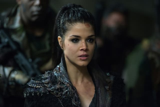 Commander Octavia — The 100 Season 4 Episode 12