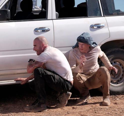 Racing Through the Desert - Prison Break