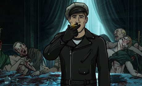 Dutch Dylan at The Last Supper - Archer Season 8 Episode 7