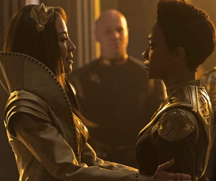 Emperor and Captain - Star Trek: Discovery
