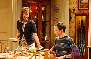 Sheldon and His Mother