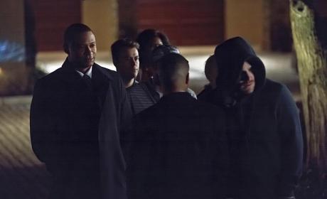 Outside a Club - Arrow Season 3 Episode 14