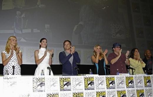 Dexter Cast at Comic-Con
