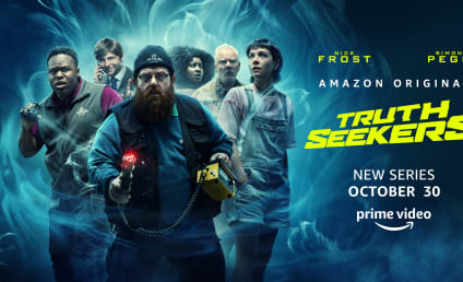 Amazon's Truth Seekers from Simon Pegg and Nick Frost Gets Trailer and Release Date