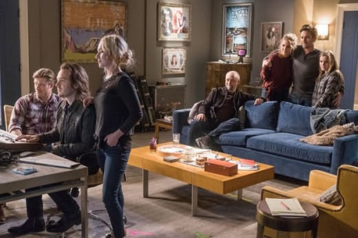 The group finishes Rayna's album - Nashville Season 5 Episode 11