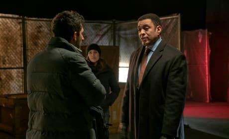 Harold Has Lots to Say - The Blacklist Season 6 Episode 14