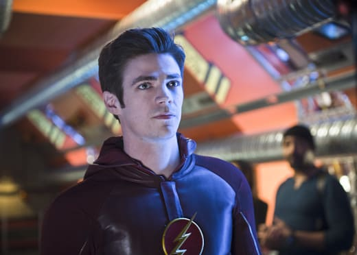 Barry Allen on The Flash Finale