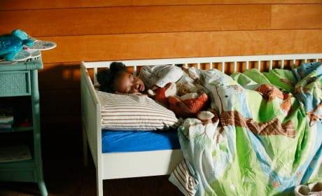 Zola is Sound Asleep - Grey's Anatomy Season 11 Episode 22