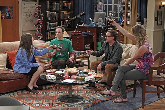 Toast to Sheldon