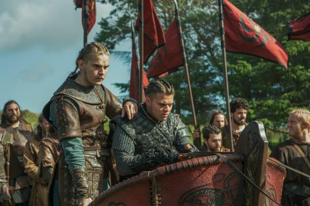 Ivar and Hvitserk Lead the Army - Vikings Season 5 Episode 8