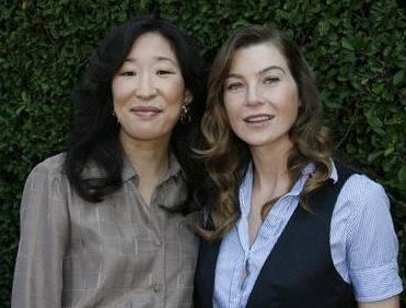 Ellen Pompeo & Sandra Oh