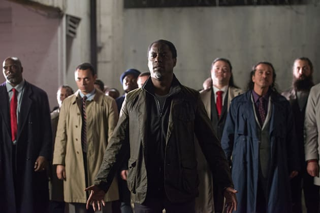 Jaha & Company - The 100 Season 3 Episode 16