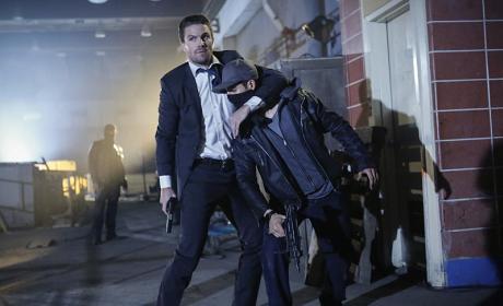 The Mayor is a Thug! - Arrow Season 5 Episode 1