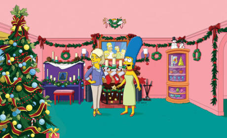 Martha Stewart on The Simpsons