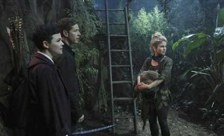 Snow, Charming, & Tinkerbell