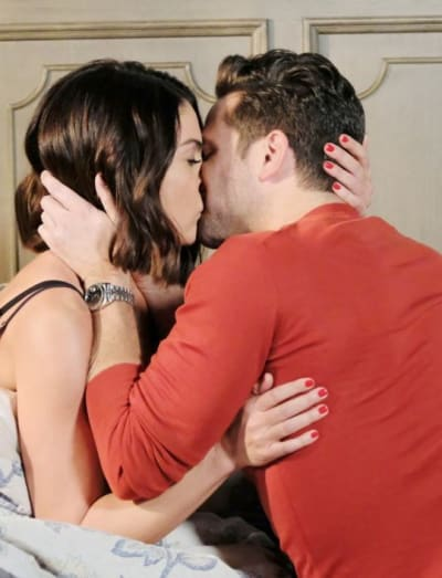 A Steamy Kiss - Days of Our Lives