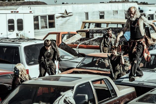 The Crew Searches For Warren - Z Nation Season 4 Episode 4