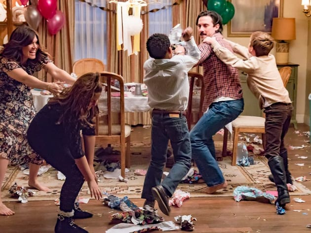 Party Fight! - This Is Us Season 1 Episode 13