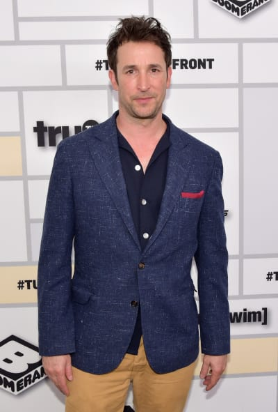 Noah Wyle Attends Upfronts