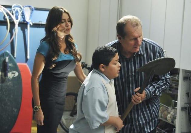 Gloria, Jay and Manny