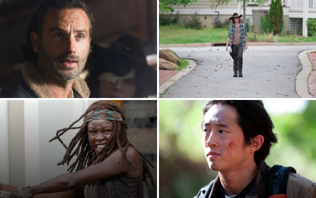 Lives are changed the walking dead