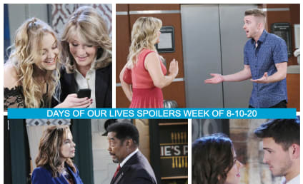 Days of Our Lives Spoilers Week of 8-10-20: Sami vs Nicole...Again!