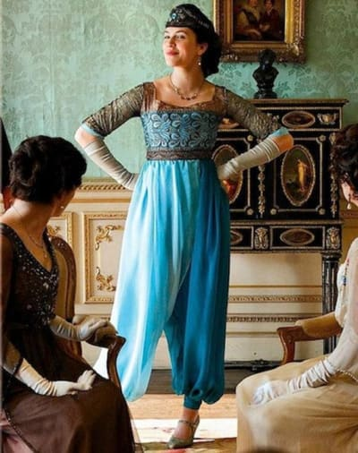 Sybil's new look - Downton Abbey