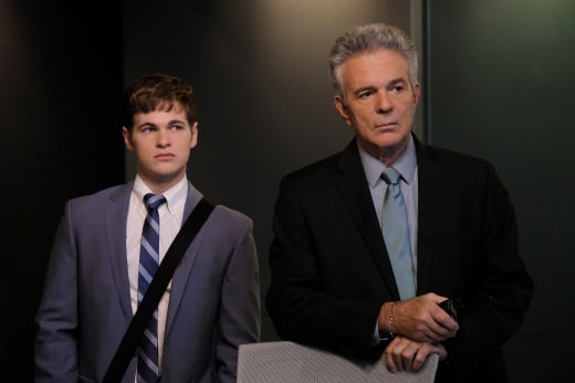 Rusty and Flynn - Major Crimes