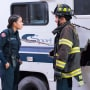 Travis and Vic - Station 19 Season 2 Episode 11