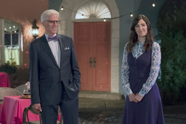 Michael and Janet - The Good Place Season 2 Episode 10