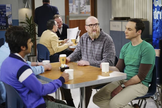 Making Plans with Bert - The Big Bang Theory Season 10 Episode 21