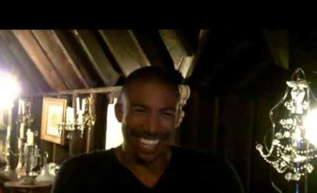 Charles Michael Davis Set Interview
