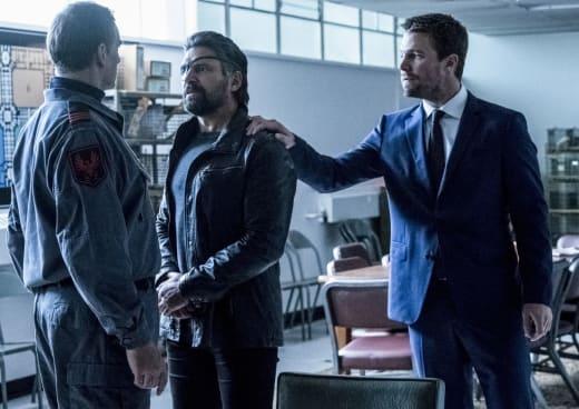 What Is That Symbol - Arrow Season 6 Episode 5