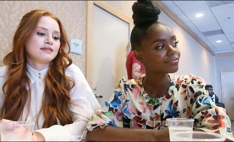 Riverdale: Madelaine Petsch and Ashleigh Murray Tease Season 2!!