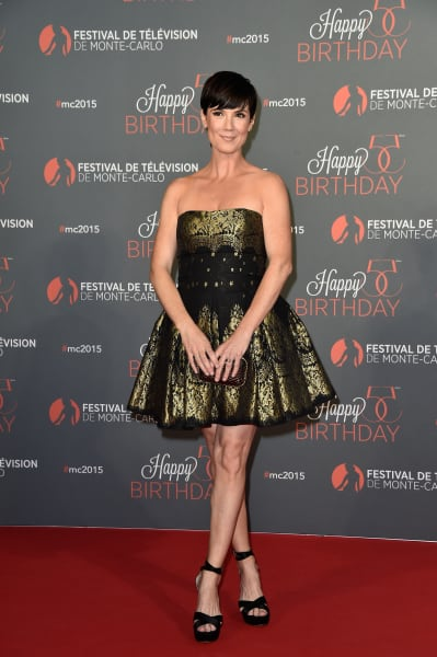 Zoe McLellan Attends TV Festival