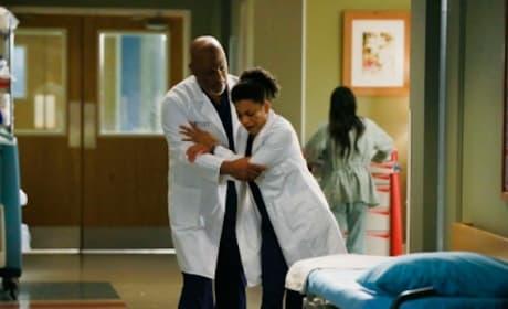 Crushed Maggie - Grey's Anatomy Season 11 Episode 16