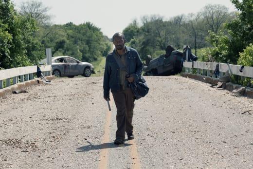 Scavenging - Fear the Walking Dead Season 4 Episode 11