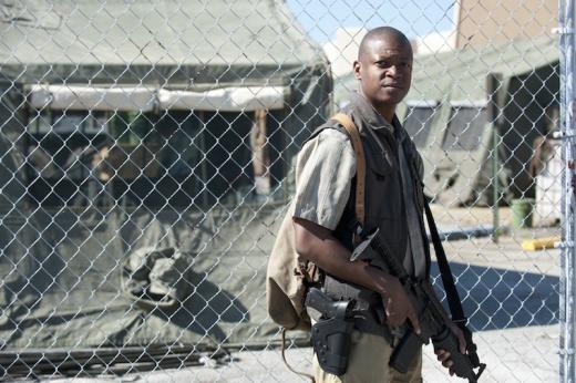Lawrence Gilliard Jr. on The Walking Dead