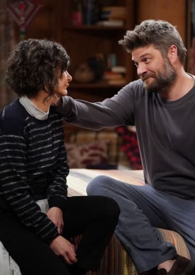 Ben Consoles Darlene - The Conners Season 2 Episode 18