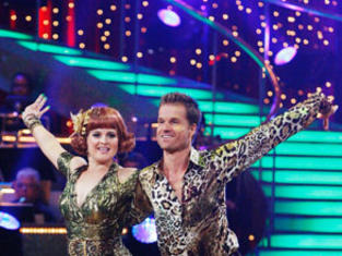 Kelly Osbourne and Louis Van Amstel Picture
