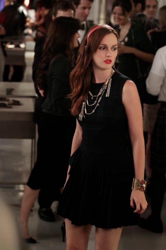 Blair's Black Dress