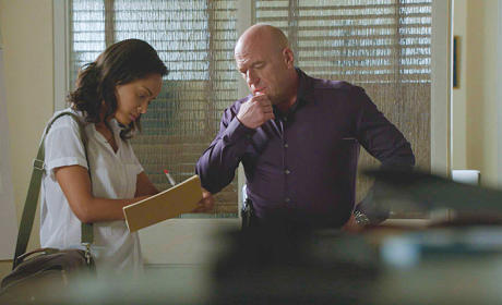 Big Jim Works with Rebecca - Under the Dome Season 2 Episode 8