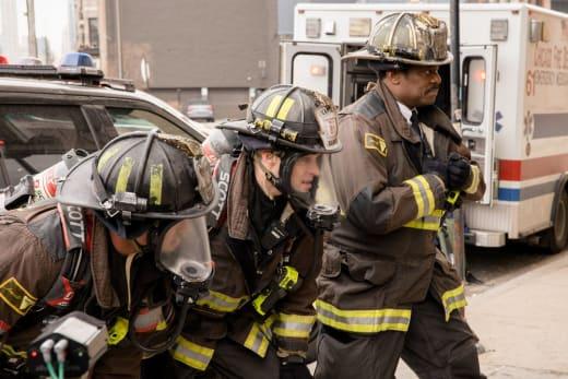 Casey + Boden - Chicago Fire Season 8 Episode 14