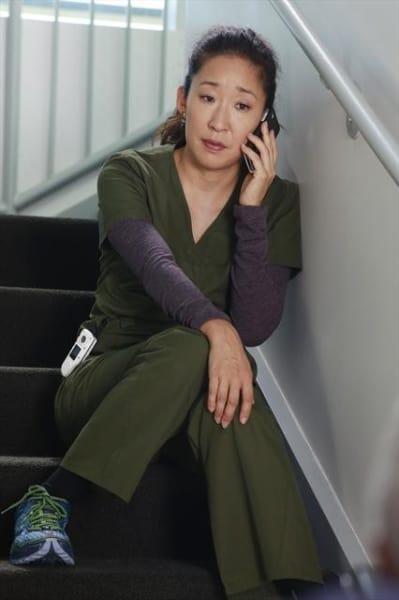 Cristina on the Phone