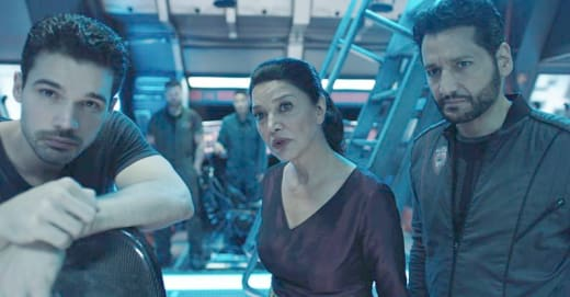 Alex, Chrisjen & Jim - The Expanse Season 3 Episode 3