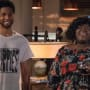 Jamal and Becky Smile - Empire Season 4 Episode 2