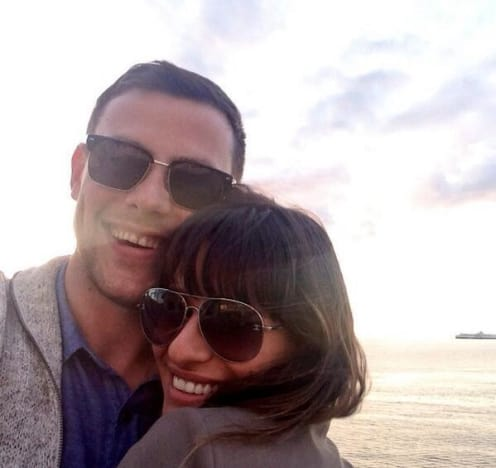 Lea Michele Twit Pic