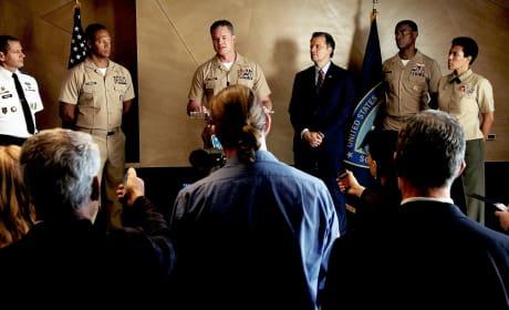 Stirring Speech - The Last Ship Season 5 Episode 5