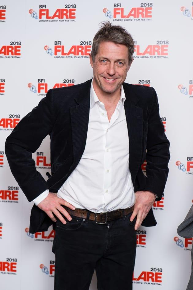Hugh Grant Attends BFI Flare